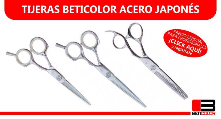 ¡Tijeras de excelente acero japonés al mejor precio! Filo de navaja, hoja cóncava. #Tijeras #Peluqueria #Belleza #Cabello