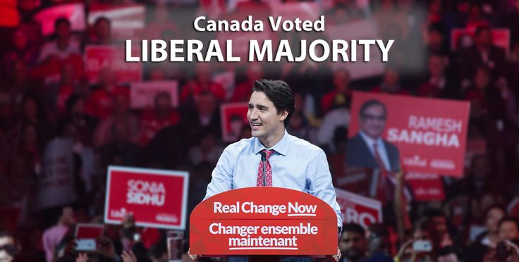 Canadians have spoken and Justin Trudeau's Liberals have won a majority government, ousting former Prime Minister Stephen Harper from office.