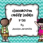 I made these cubby labels for my classroom theme.  They featuring the fabulous clipart from Melonheadz.  They are a part of my Classroom décor set ...