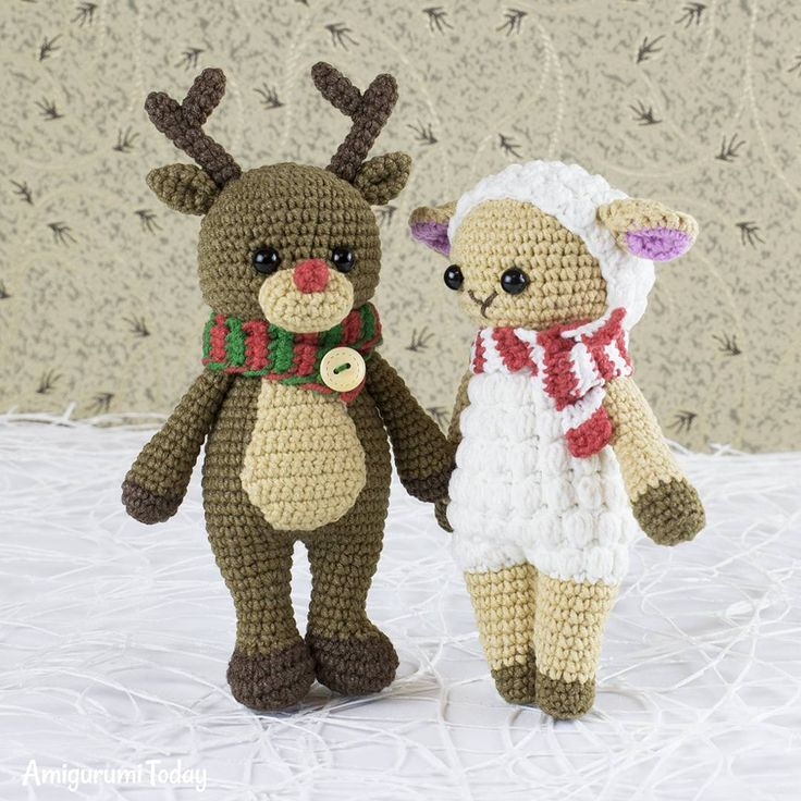 "1,359 Beğenme, 14 Yorum - Instagram'da Amigurumi Today patterns (@amigurumitoday): ""Give these Cuddle Me Toys out to your friends or coworkers as Secret Santa gifts that can be…"""