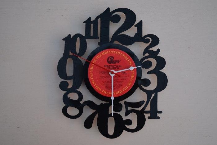 Vinyl Record Clock (artist is Chicago): Album Wall, Clocks Artists, Handcrafted Vinyls, Vinyl Records, Wall Clocks, 2300, Records Clocks, Vinyls Records, Records Album