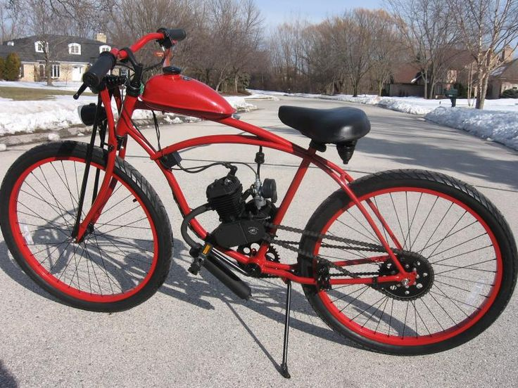 Custom Motored Bicycles