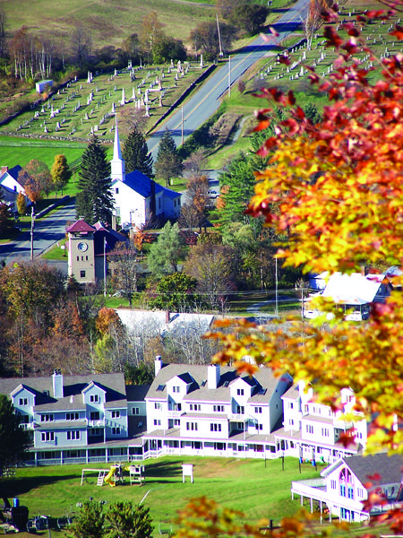 Beautiful fall foliage in Brownsville, VT at our Holiday Inn Club Vacations Ascutney Mountain Resort
