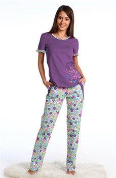 Пижама из весенней коллекции всего 880 руб. Размерный ряд 42-52