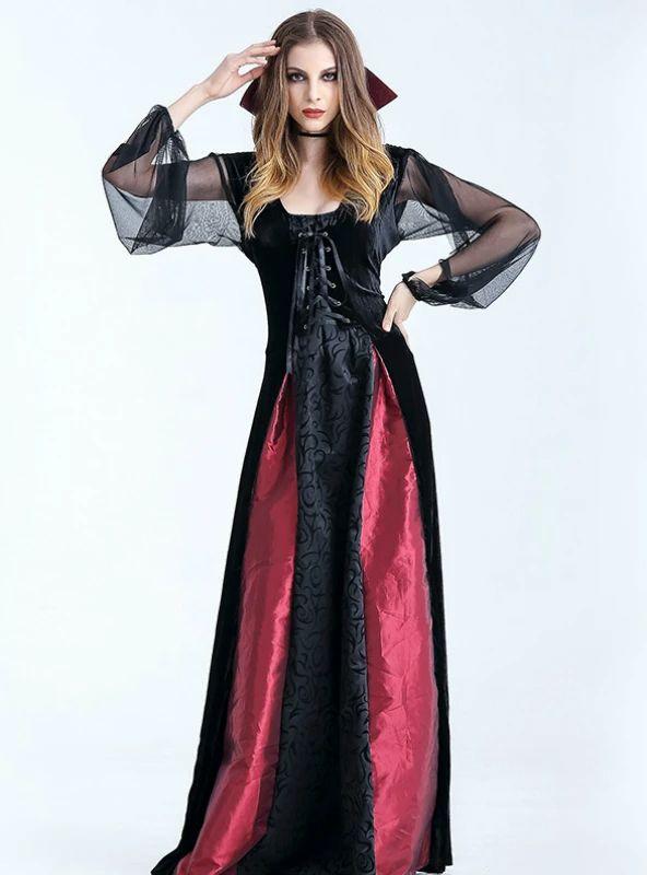 Halloween Vampire Costume Countess Vampire in 2020 ...