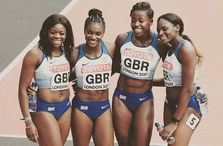 Great Britain Relay team