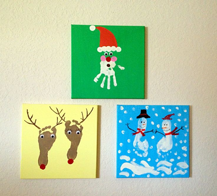 Kid's crafts for Christmas :)