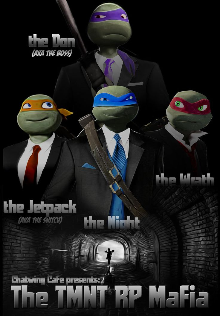 TMNT RP Mafia The Don by JasmineAlexandra.deviantart.com on @deviantART