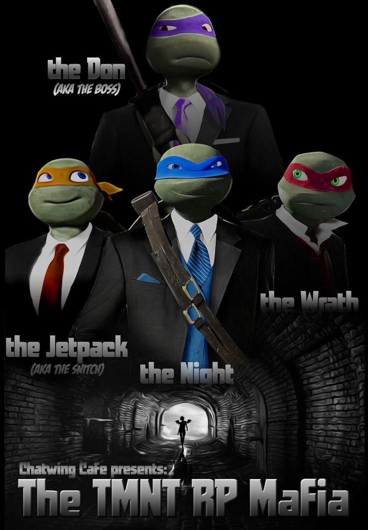 TMNT RP Mafia The Don by JasmineAlexandra.deviantart.com on @deviantART