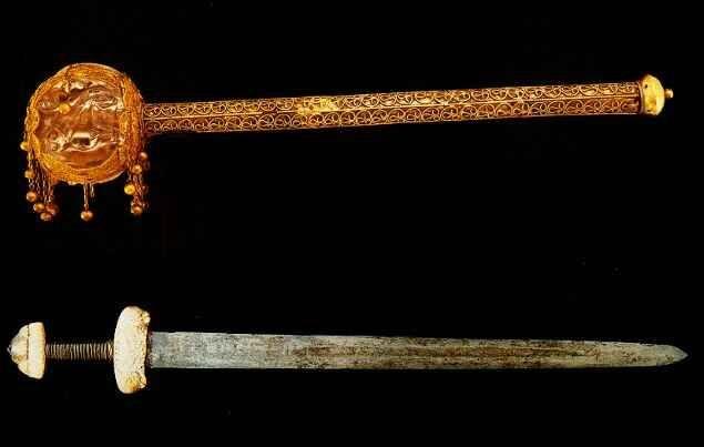 Magyar Királyi kard  és jogar