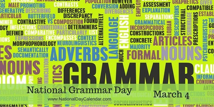 Did you know, grammar is actually a system for understanding language, & not a set of rules? #NationalGrammarDay