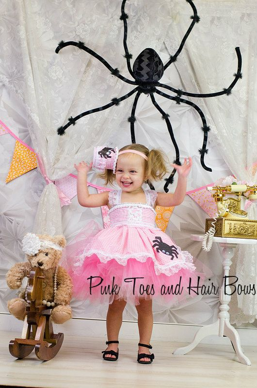 Little Miss Muffet dress Little Miss Muffet tutu by GlitterMeBaby, $75.00