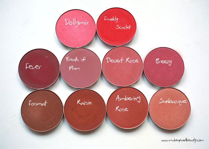 MAC Blush for Dusky Indian Skin Tones (also for Medium Dark to Deep Dark Skin Tones)