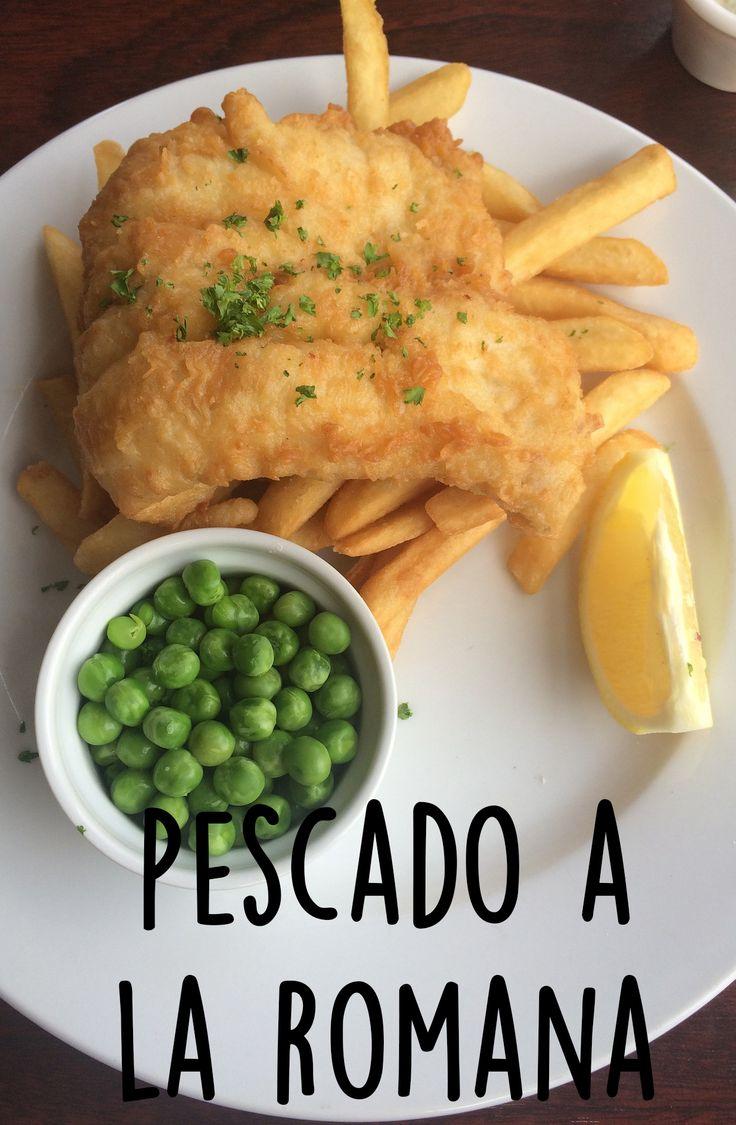 Para arrancar bien la semana les proponemos este delicioso pescado a la romana, una idea diferente para cocinar pescado frito.