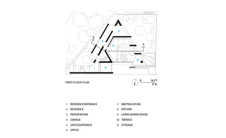 Triangle House Plans | House plans | Pinterest | Triangle house and ...