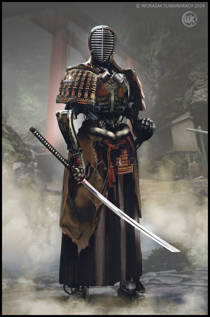 http://www.artstation.com/artwork/robot-samurai-277429c8-ec5b-42a3-aeff-69a4fed176eb 侍をこういう風にイメージするのか…