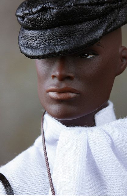 Natural Man by ernestopadrocampos on Flickr. [Fashion Royalty Darius Reid by Integrity Toys. —MOD]