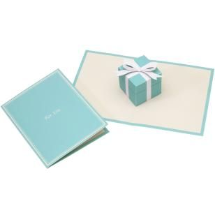 Pop-up Card (Gift box),Craft Cards,Card,Pop-up ,present,Box shaped ,Birthday,Paper Craft,Card ,sky blue