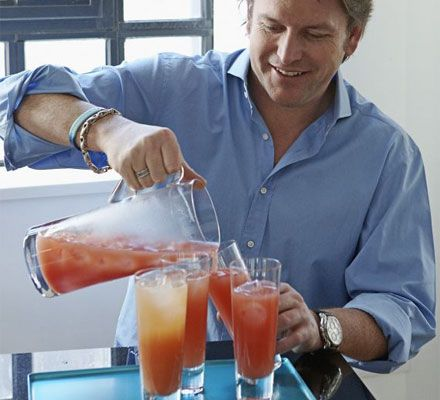 James Martin's healthy spritzers are super quick and a refreshing addition to any brunch