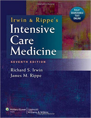 Irwin and Rippe's Intensive Care Medicine 7th Edition PDF