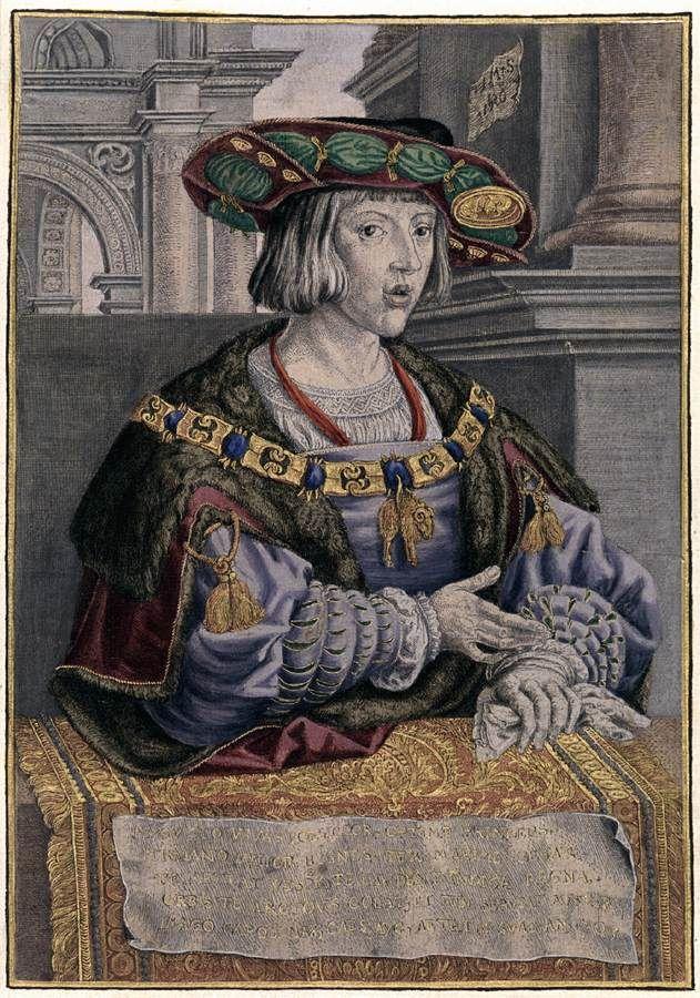 Κάρολος V (1520) Από εκτύπωση