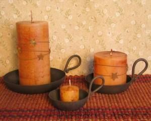 primitive lighting ideas. candle dish primitive lighting ideas