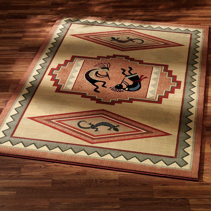 Kokopelli Dance Southwest Area Rugs