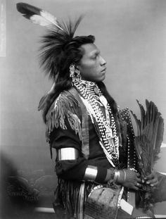 White Swan a Native American (Omaha) man.