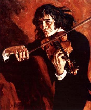 Niccolò Paganini kohcostage.blogspot.com