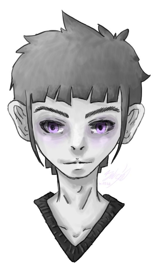 Aster -- One of my OC's.