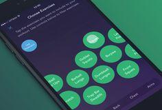 Workout Book App - UI Movement