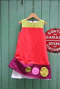 Such a sweet little girl's dress.