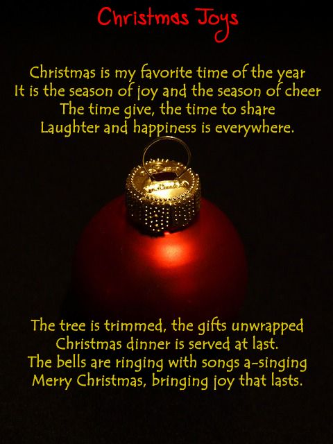 Funny Christmas Poems for Kids and Cards!