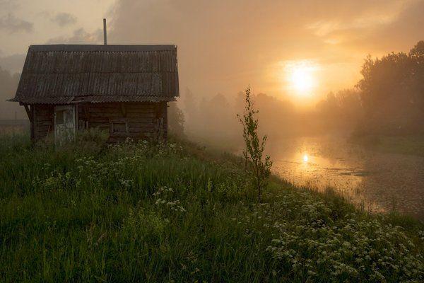 Утро в деревне Церковище Фоторепортаж: http://petr-kosyh.livejournal.com/2188.html