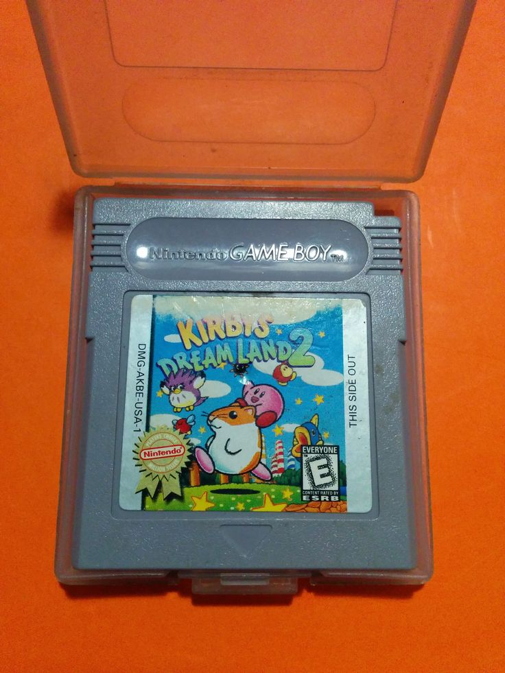 Game Boy - Kirby's Dream Land 2