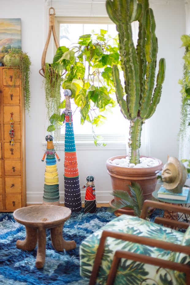 Justina Blakeney's Home with Baby Ndebele Fertility Doll