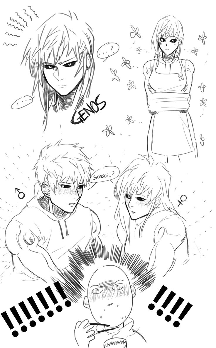 Genos, Fem!Genos, and Saitama ||| Cisswap ||| One Punch ...