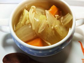離乳食 後期〜幼児食 ゴロゴロ野菜スープ by しゅがいっこ [クックパッド] 簡単おいしいみんなのレシピが255万品