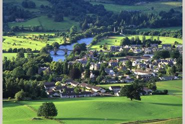 Self catering Perthshire: Aberfeldy Cottages Scotland – luxury self catering holiday accommodation in Aberfeldy, Highland Perthshire.