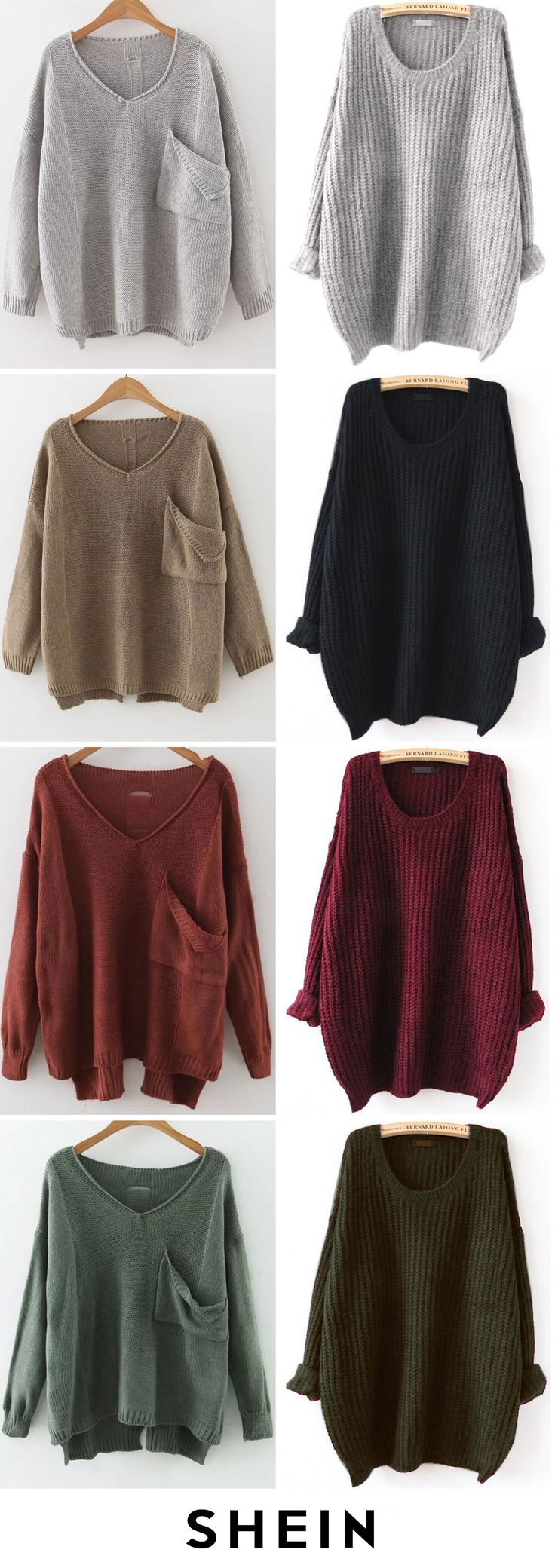 Loose sweaters