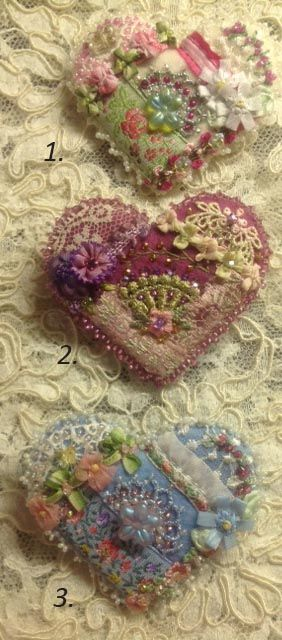 ❤ =^..^= ❤    Trims & embellishments for crazy quilting, scrapbooking…