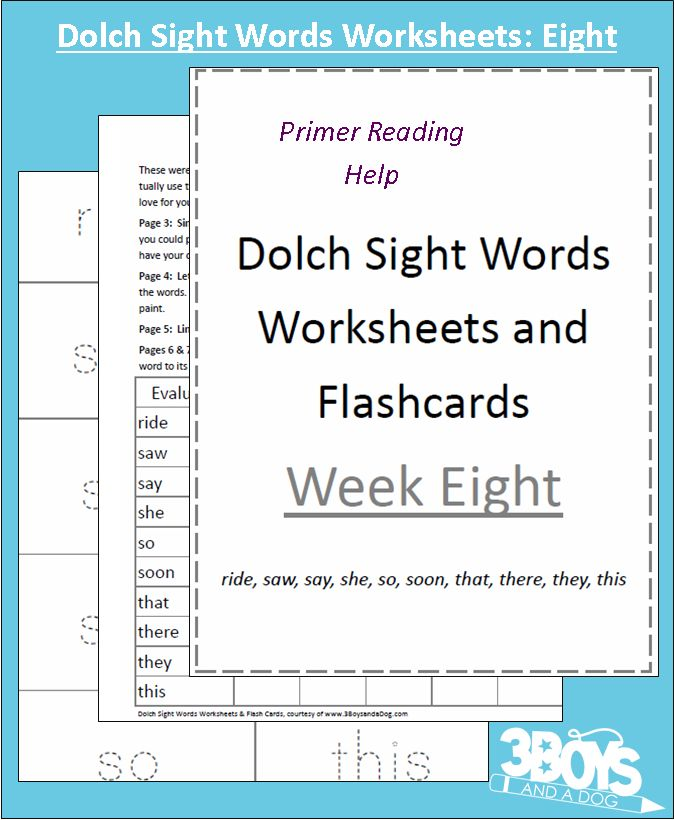 Check out the newest post (Dolch Sight Words Worksheets: Week Eight) on 3 Boys and a Dog at http://3boysandadog.com/2014/02/dolch-sight-words-worksheets-week-eight/?Dolch+Sight+Words+Worksheets%3A++Week+Eight