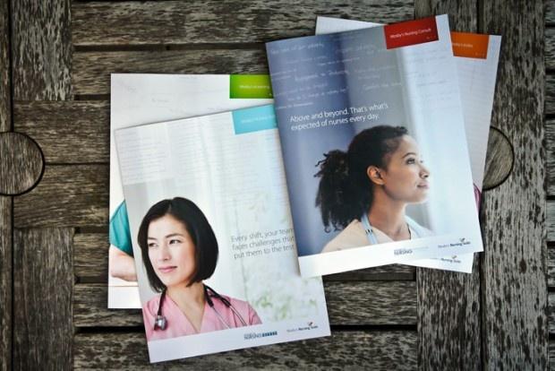 Mosby's Nursing Suite / Print / Healthcare Design