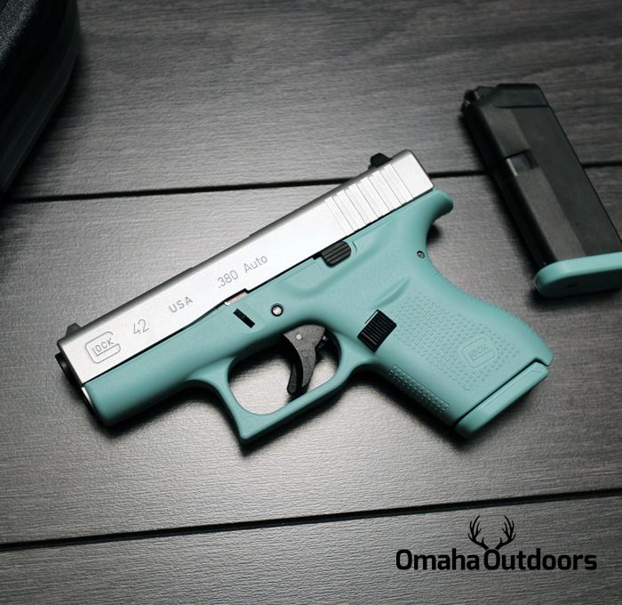 380 Tiffany Blue Glock.