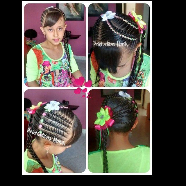 #peinados #niñas #trenzas #peinadosdeniñas #peinhaditas #peinadosparaniñas #peinadosinfantiles #braids #penteados #koca #hairstilesforgirls #hairdo #hair #Girls #pretty #encintados #trencitasparaniña #trenzasjuveniles #peinhaditasMonik