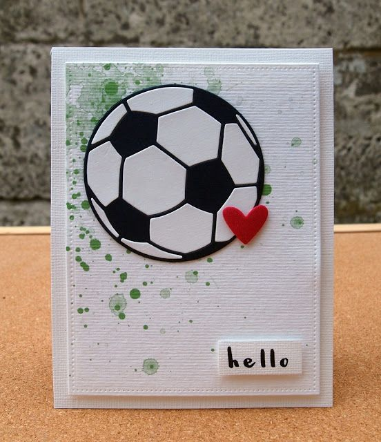 Hello Football card
