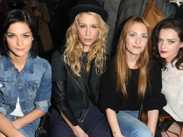 Fotos: Miranda Kerr y Jessica Alba, en el front row de H&M - Terra España