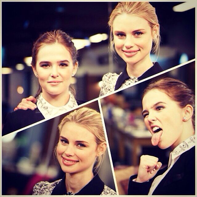 Vampire Academy stars Zoey Deutch & Lucy Fry. Their personalities are amazing