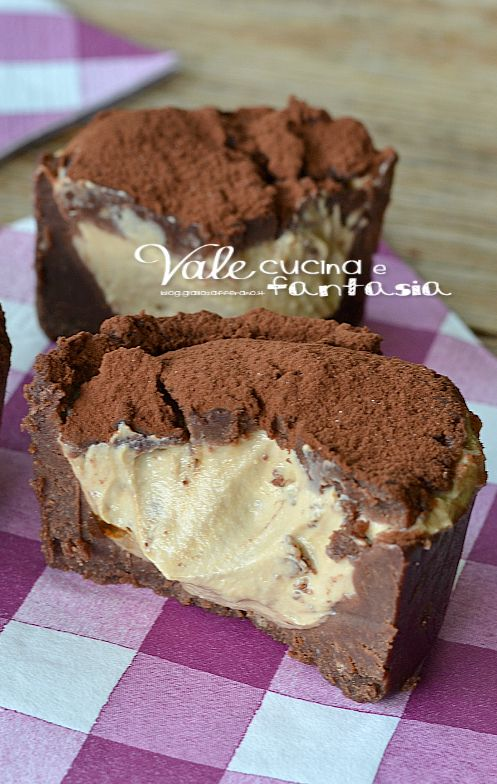 Cakes with coffee cream and mascarpone without cooking