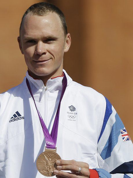 Chris Froome bags a bronze medal for Team GB in the Men's Time Trial.
